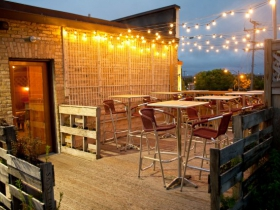 Braise's rooftop patio