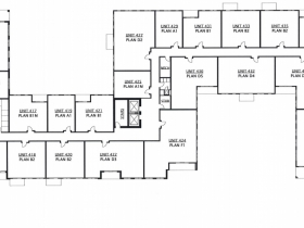 Floor 4 - 603-645 S. 6th St.