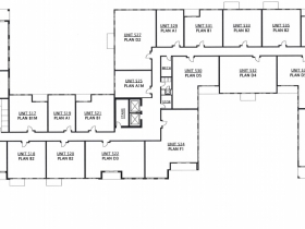 Floor 5 - 603-645 S. 6th St.