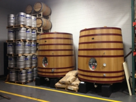 French Oak tanks