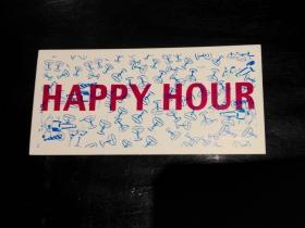 Happy Hour pull tab
