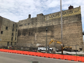 Louis Bass Apartments Construction