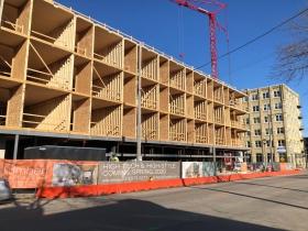 Timber Lofts Construction