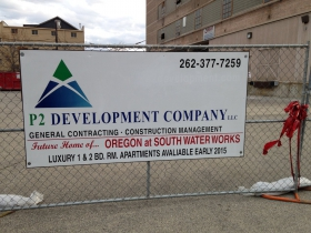P2 Development Company LLC is working on 221 E. Oregon St.