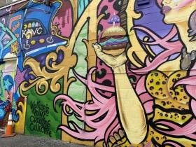 Hamburger Mary's mural