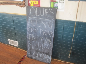 All You Can Drink Tap Or Rail