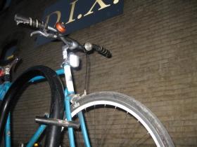 Bike outside of D.I.X.