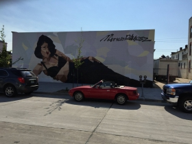 Mural of Selena by Mauricio Ramirez in Walker's Point