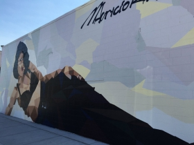 Mural of Selena by Mauricio Ramirez in Walker's Point