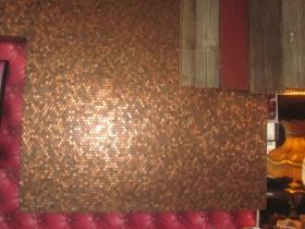 Penny wall