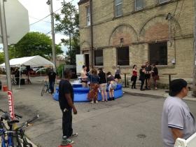 Pool party at Sabbatic?