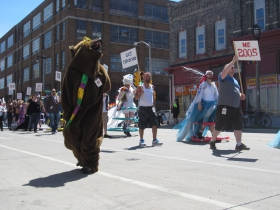 Pride Parade Bear