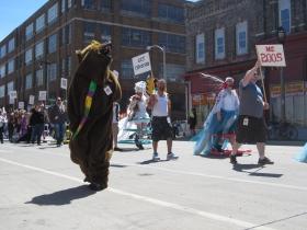 Pride Parade Bear