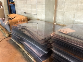 Plexiglass Shields