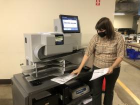 Tabulation Machine Demonstration