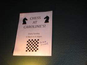 Chess at Caroline's