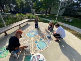 Painting at Eco-Arts Park