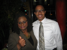 Gwen Moore and Johnny Thomas