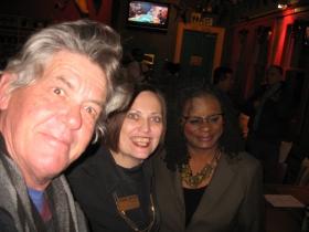 Michael Horne, Jean Kies and Gwen Moore