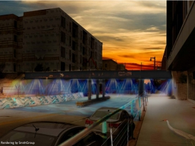 Railroad Bridge Lights