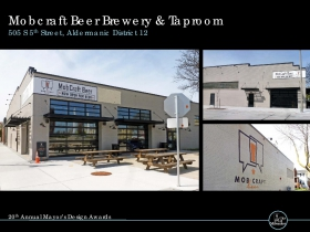 Mobcraft Beer Brewery & Taproom, 505 S. 5th St.