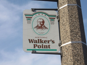 National Avenue runs through Walker's Point