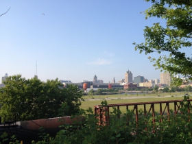 View of Downtown from The Yard