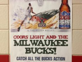 Coors Light and the Milwaukee Bucks