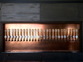 Taps at MobCraft Beer