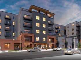 Taxco Apartments Rendering