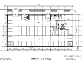 The Yards Level 1 Floor Plan