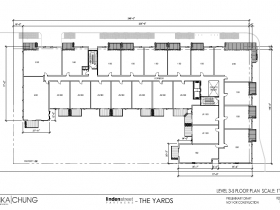 The Yards Levels 3-5 Floor Plan