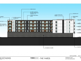 The Yards South Elevation