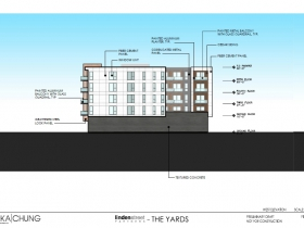 The Yards West Elevation