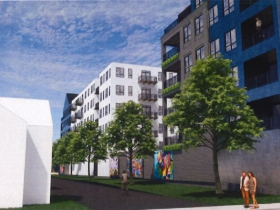 Conceptual Rendering - 603-645 S. 5th St.