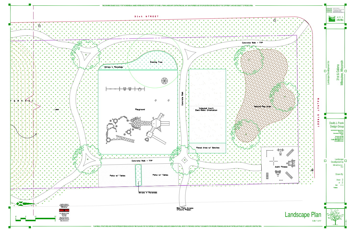 31st and Galena Park Plan