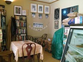 Amaranth Bookshelf.
