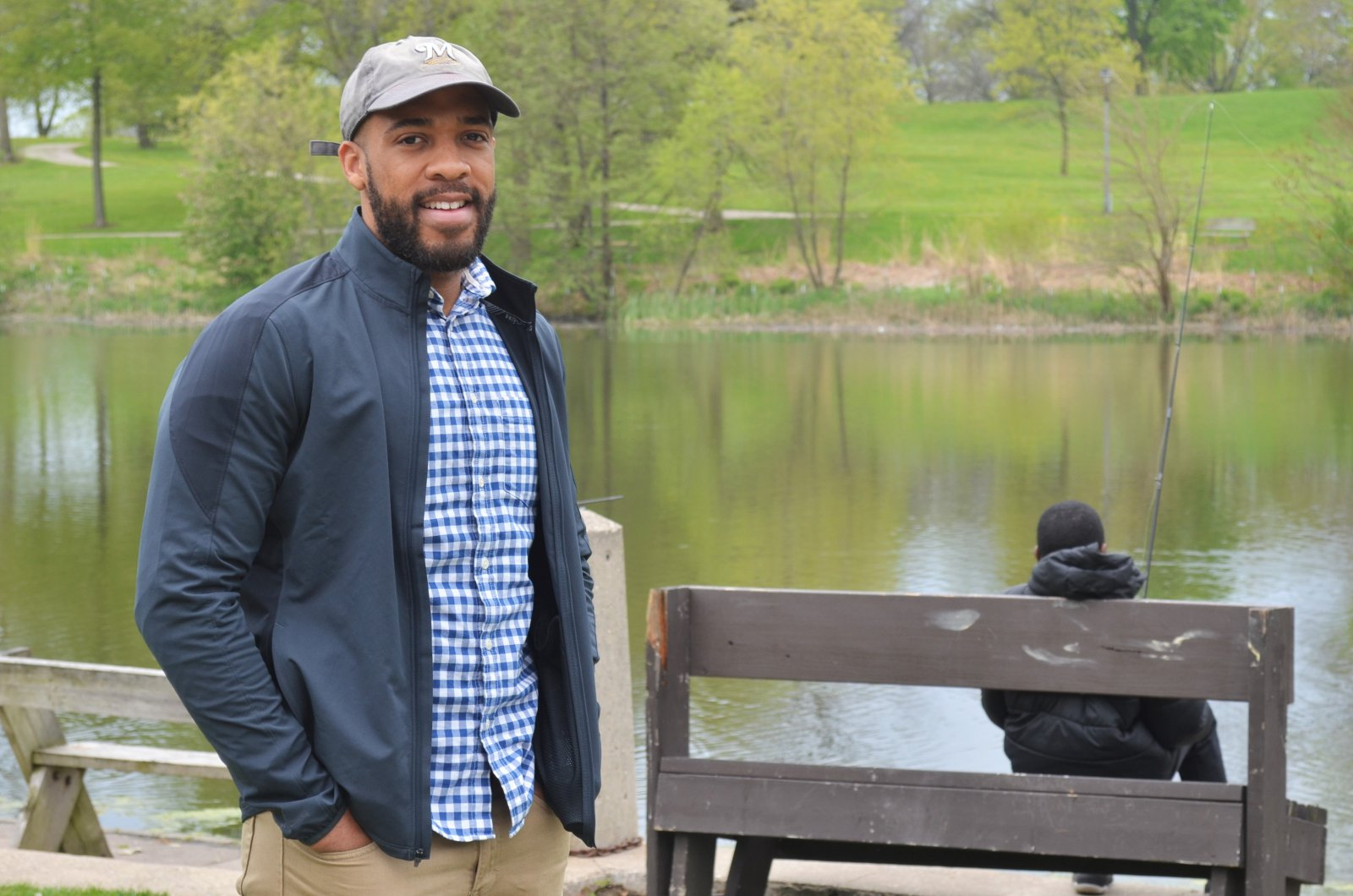 lt-gov-mandela-barnes-at-washington-park-pond