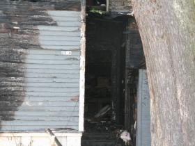 Inside Burned House