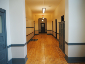 37th Street School Senior Apartments Hallway
