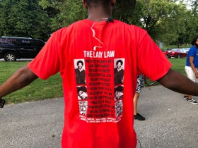 Lacy Law's Shirt Back