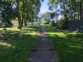 Wedgewood Park sidewalk