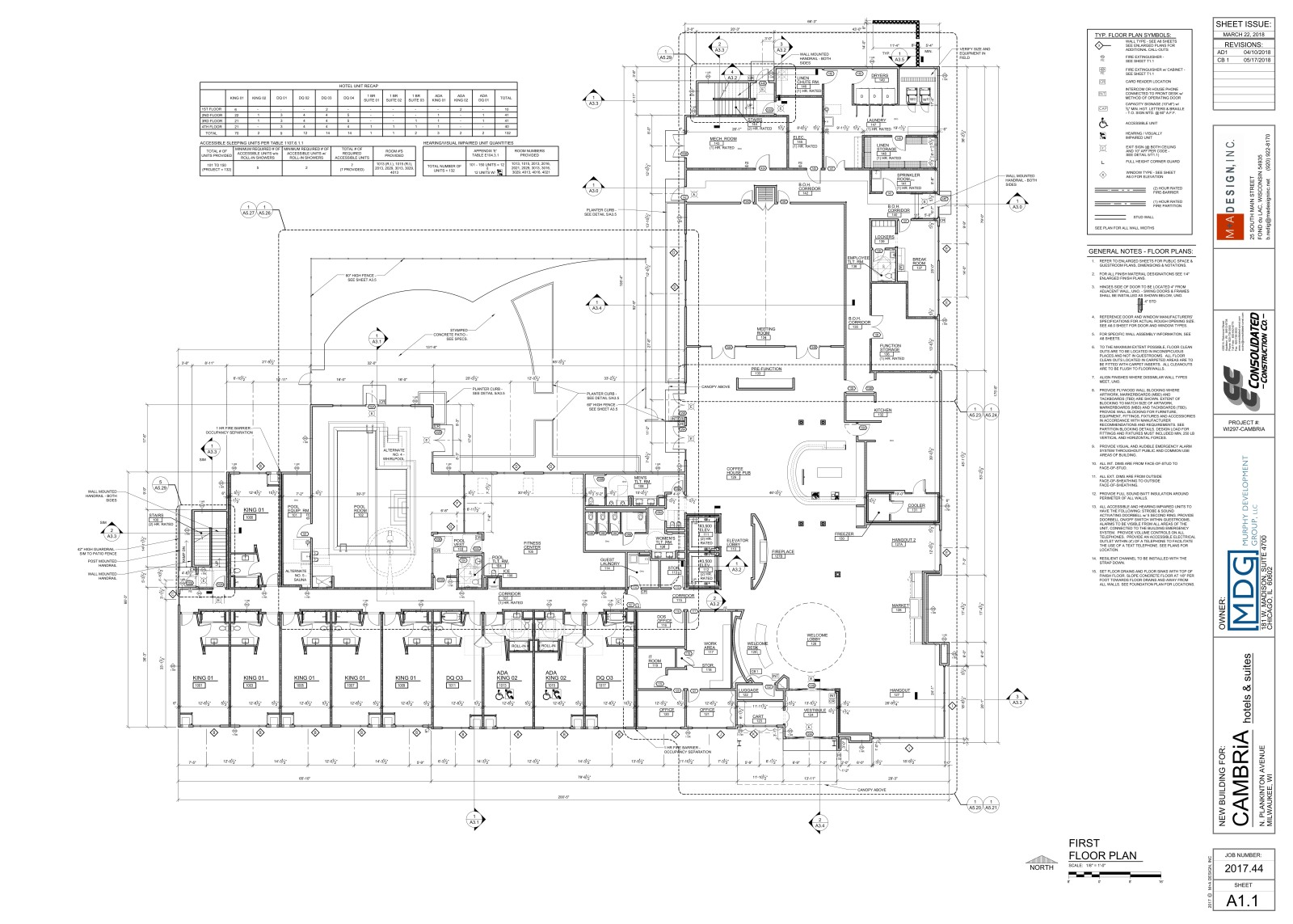 Cambria First Floor Plan