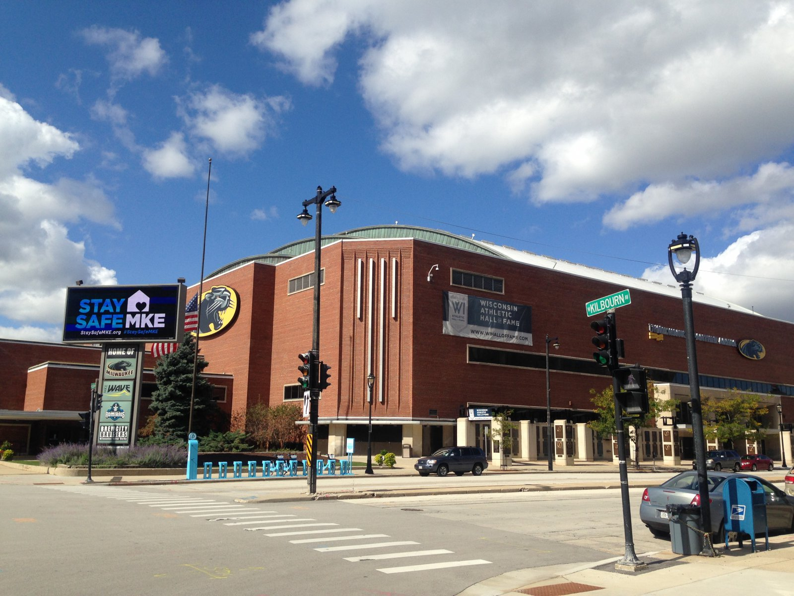 UW Milwaukee Panther Arena, 400 W. Kilbourn Ave