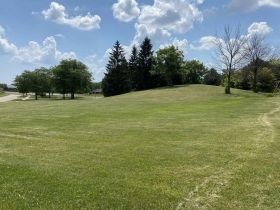 Proposed site of the Highway 41 Historic Gardens