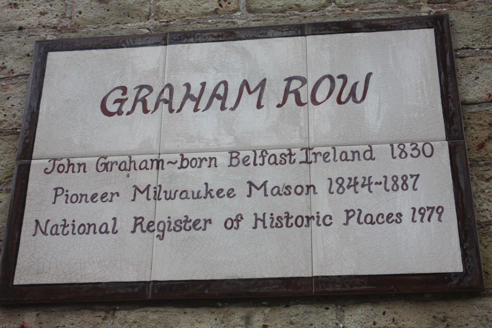 Graham Row marker