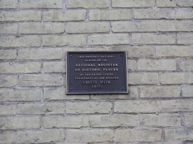 Abbot Row marker