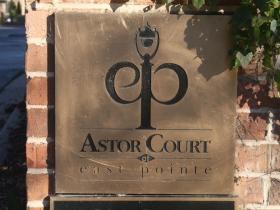 Astor Court marker