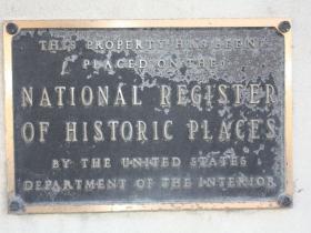 Astor Hotel marker