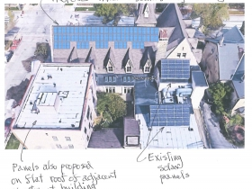 First Unitarian Society of Milwaukee Solar Panel Plan